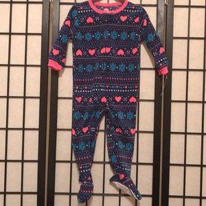 NWT Carter's 18M Footie Fleece Pajamas